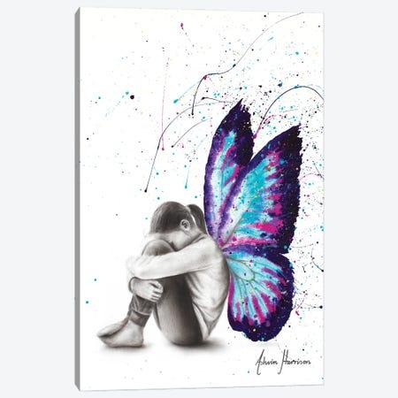 Butterfly Dreaming 3-Piece Canvas #VIN637} by Ashvin Harrison Canvas Art Print