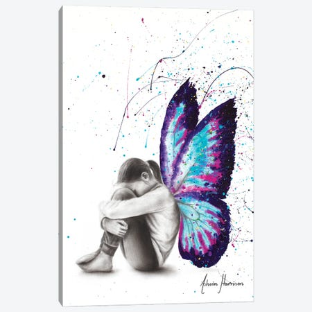 Butterfly Dreaming Canvas Print #VIN637} by Ashvin Harrison Canvas Art Print