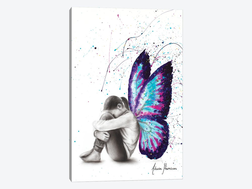 Butterfly Dreaming by Ashvin Harrison 1-piece Canvas Wall Art