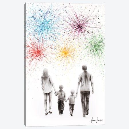 A Family Cheer Canvas Print #VIN638} by Ashvin Harrison Canvas Wall Art