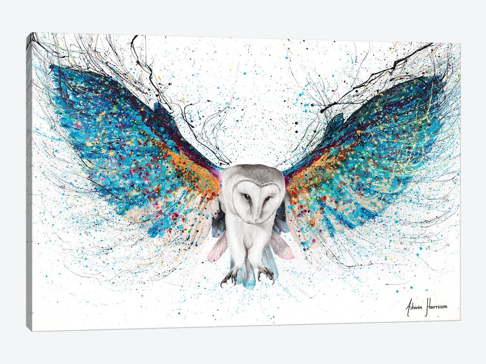 Opulent Night Owl by Ashvin Harrison 1-piece Canvas Art
