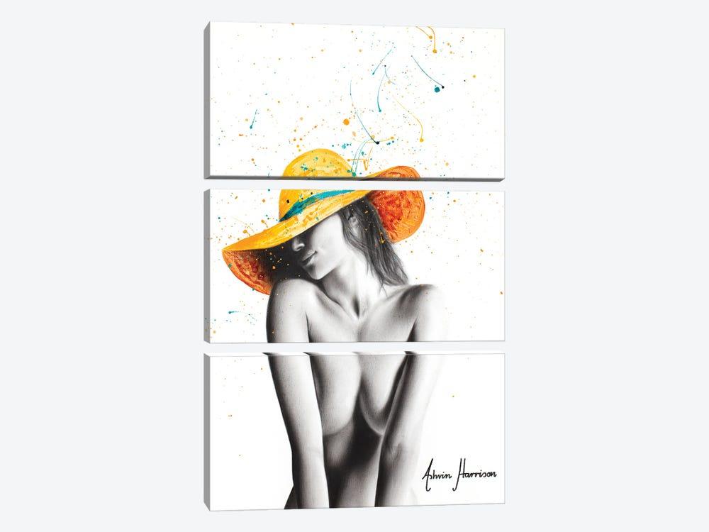 Sun Soaked by Ashvin Harrison 3-piece Canvas Wall Art