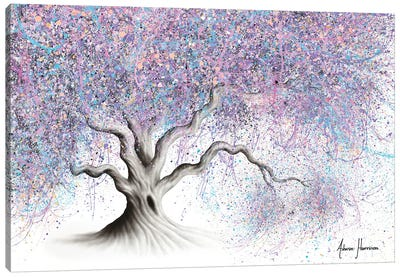 Bubblegum Tree Canvas Art Print