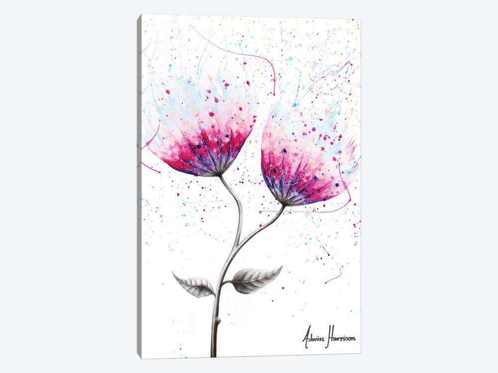 Due Bloom by Ashvin Harrison 1-piece Canvas Wall Art
