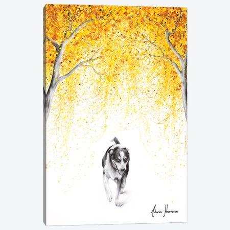 A Happy Walk Canvas Print #VIN654} by Ashvin Harrison Art Print