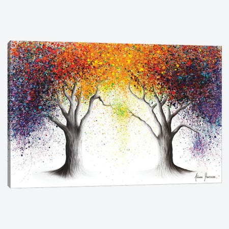 Paralleled Prism Trees Canvas Print #VIN656} by Ashvin Harrison Canvas Art Print