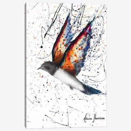 Rugged Range Bird Canvas Print #VIN657} by Ashvin Harrison Canvas Print