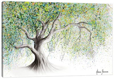 Bright Memory Tree Canvas Art Print