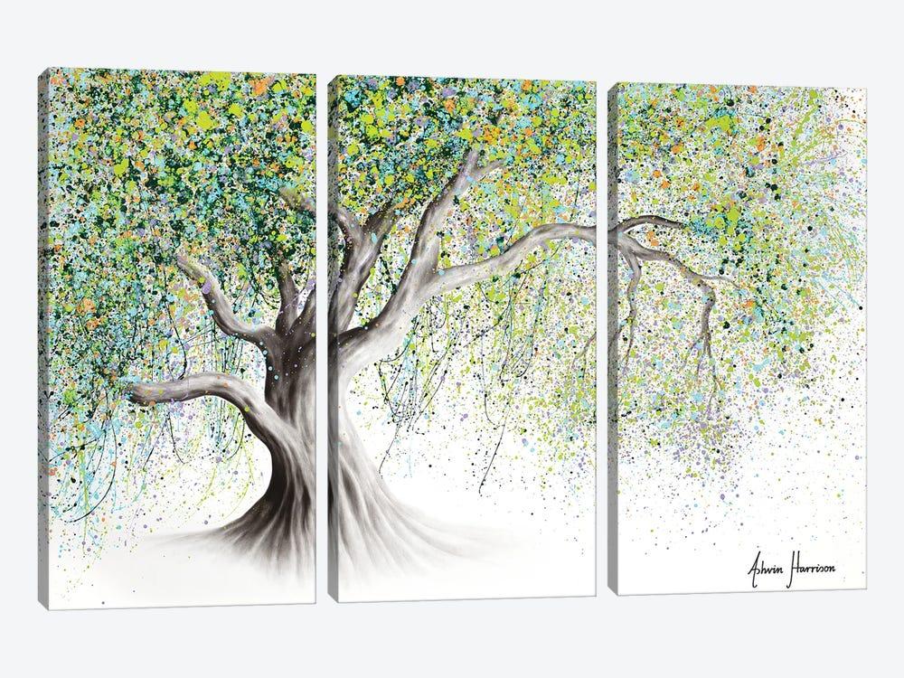 Bright Memory Tree by Ashvin Harrison 3-piece Canvas Artwork