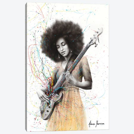 Bass Funk Canvas Print #VIN661} by Ashvin Harrison Art Print