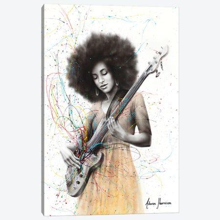 Bass Funk Canvas Print #VIN661} by Ashvin Harrison Art Print