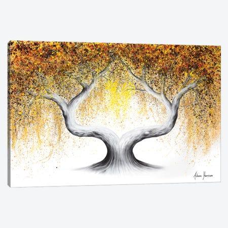 Ace Of Spades Tree 3-Piece Canvas #VIN665} by Ashvin Harrison Canvas Artwork