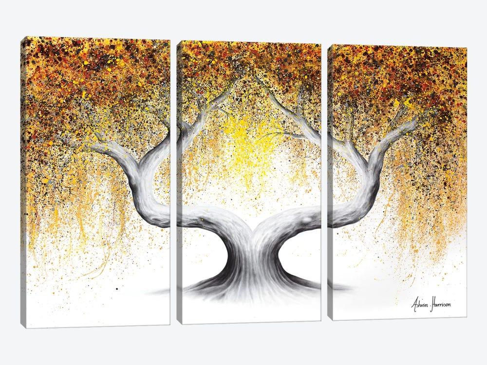 Ace Of Spades Tree by Ashvin Harrison 3-piece Canvas Art Print