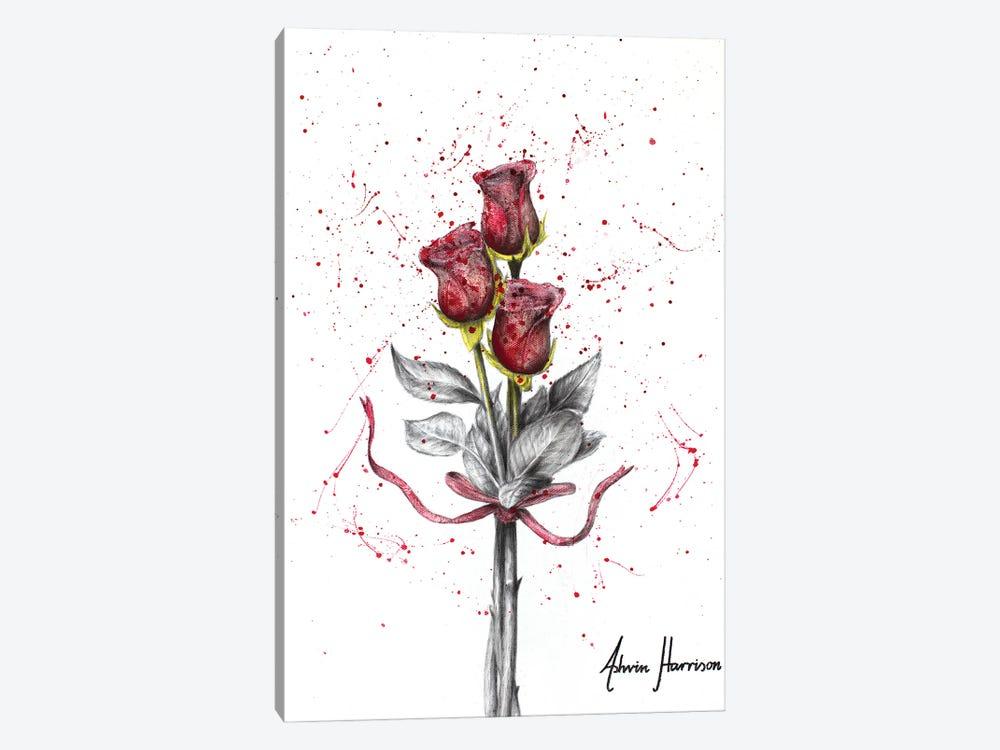 Deep Love Roses by Ashvin Harrison 1-piece Art Print