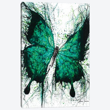 Night Garden Butterfly Canvas Print #VIN66} by Ashvin Harrison Canvas Wall Art