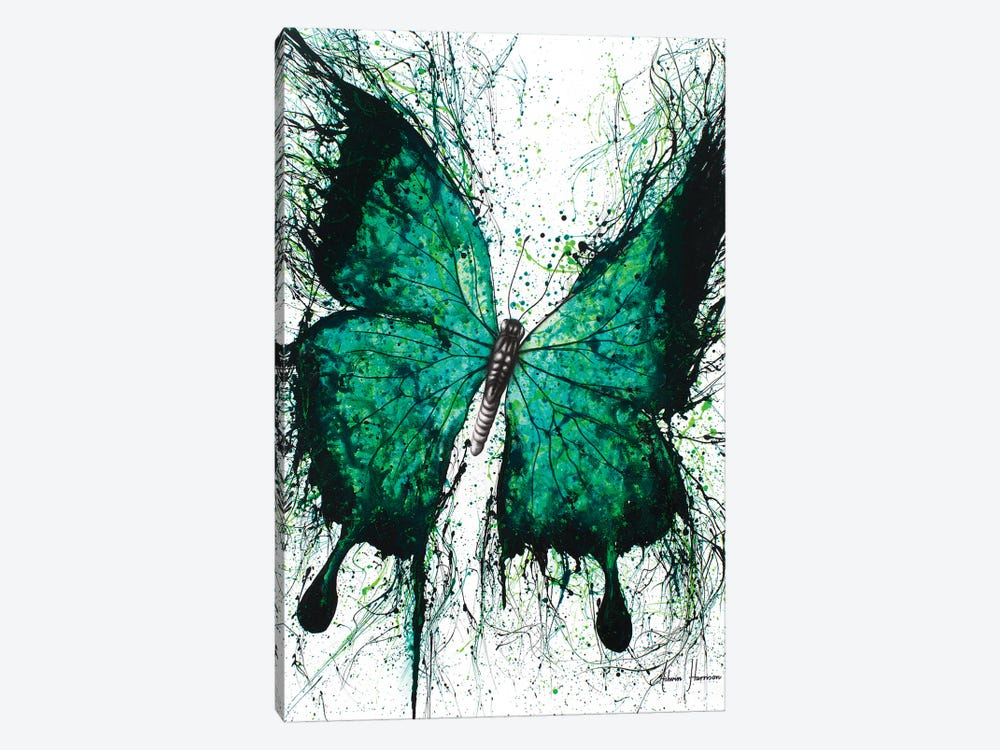 Night Garden Butterfly by Ashvin Harrison 1-piece Art Print