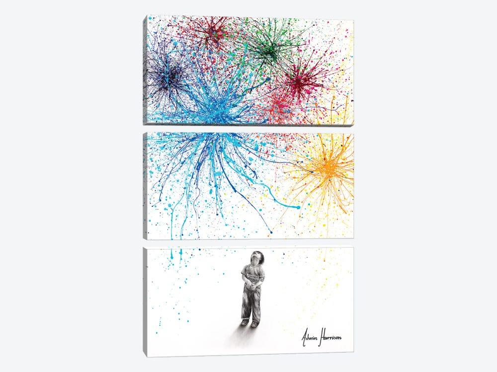 Positive Perspective by Ashvin Harrison 3-piece Art Print