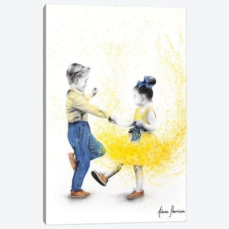 Little Rock N Rollers Canvas Print #VIN671} by Ashvin Harrison Canvas Wall Art