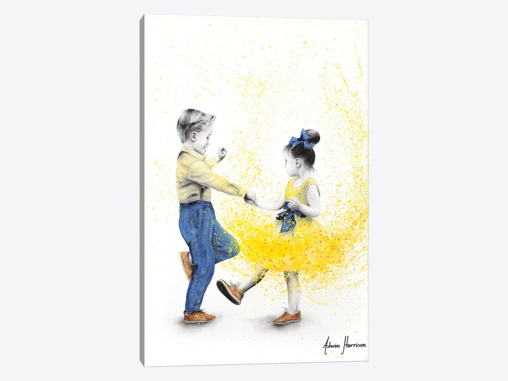 Little Rock N Rollers by Ashvin Harrison 1-piece Canvas Artwork