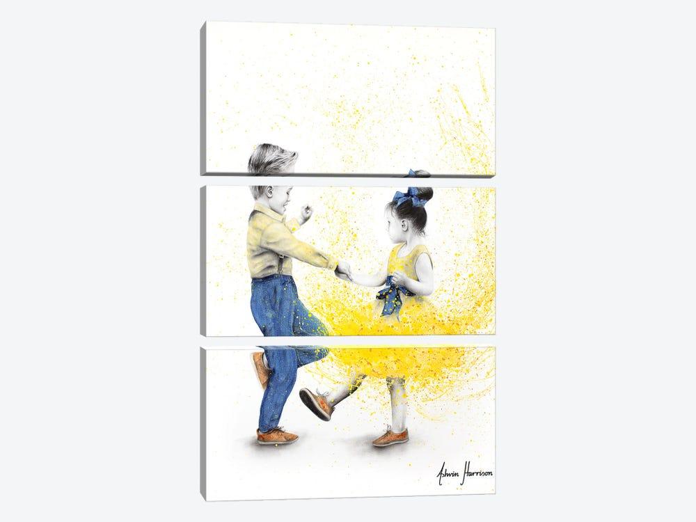 Little Rock N Rollers by Ashvin Harrison 3-piece Canvas Wall Art