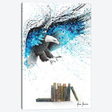 Books Of The Air Force Canvas Print #VIN674} by Ashvin Harrison Art Print