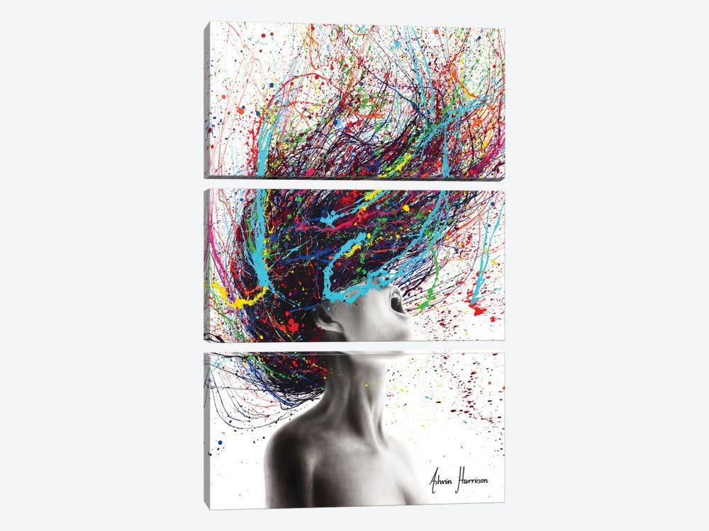 The Edge by Ashvin Harrison 3-piece Canvas Wall Art