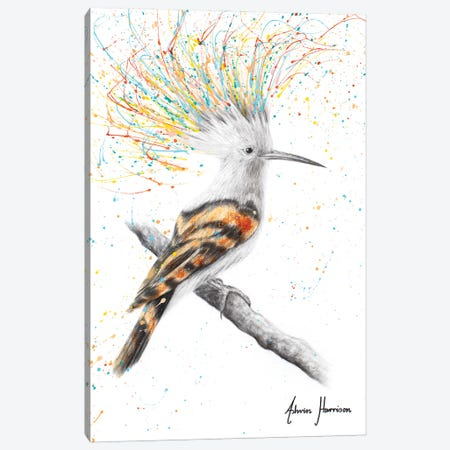 Funky Punky Bird Canvas Print #VIN678} by Ashvin Harrison Canvas Wall Art