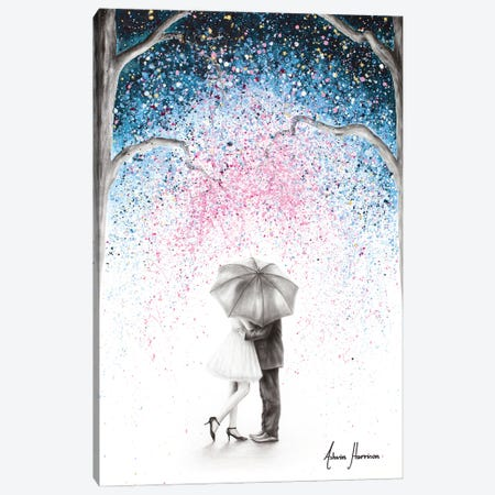The Midnight Kiss Canvas Print #VIN679} by Ashvin Harrison Canvas Art