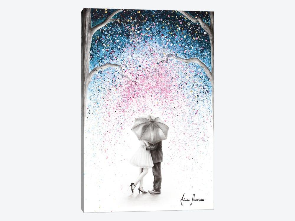 The Midnight Kiss by Ashvin Harrison 1-piece Canvas Artwork