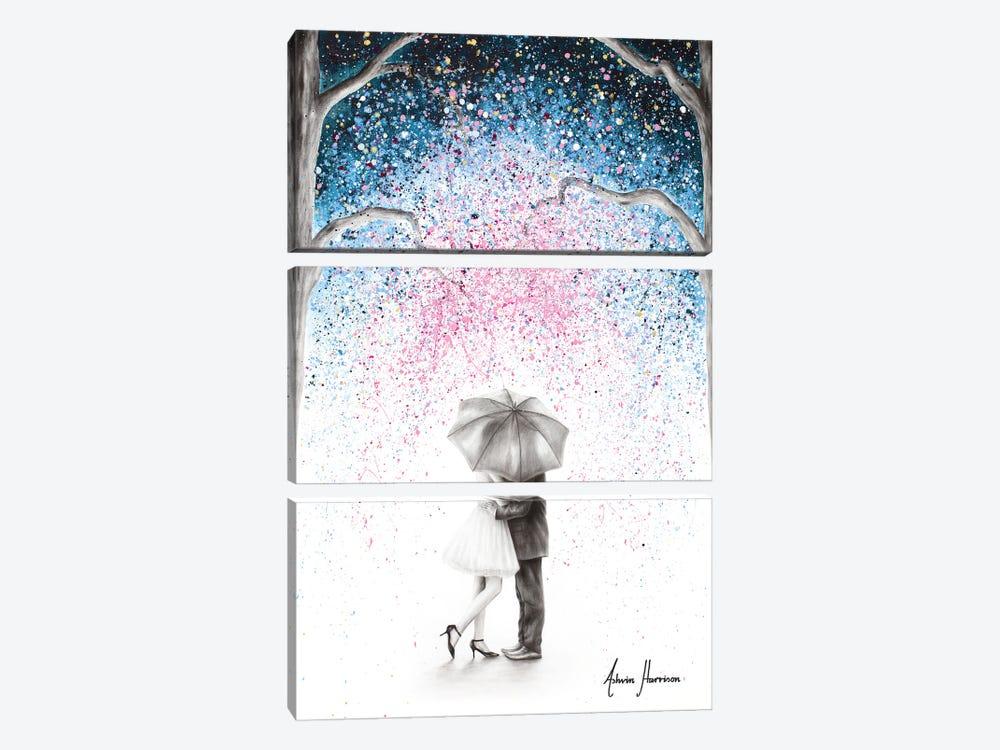 The Midnight Kiss by Ashvin Harrison 3-piece Canvas Art