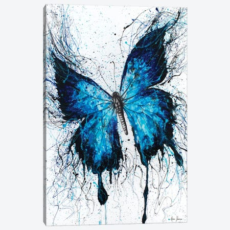 Night Sky Butterfly Canvas Print #VIN67} by Ashvin Harrison Canvas Art