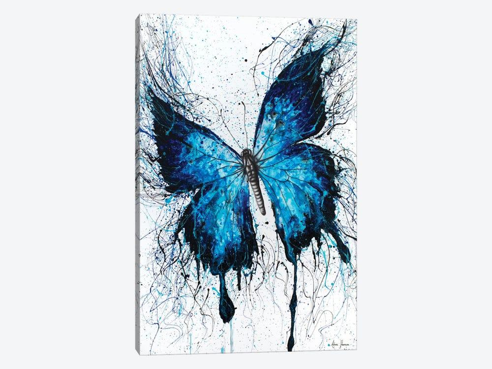 Night Sky Butterfly by Ashvin Harrison 1-piece Canvas Wall Art