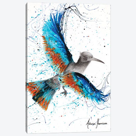 Outback Oasis Bird Canvas Print #VIN680} by Ashvin Harrison Art Print