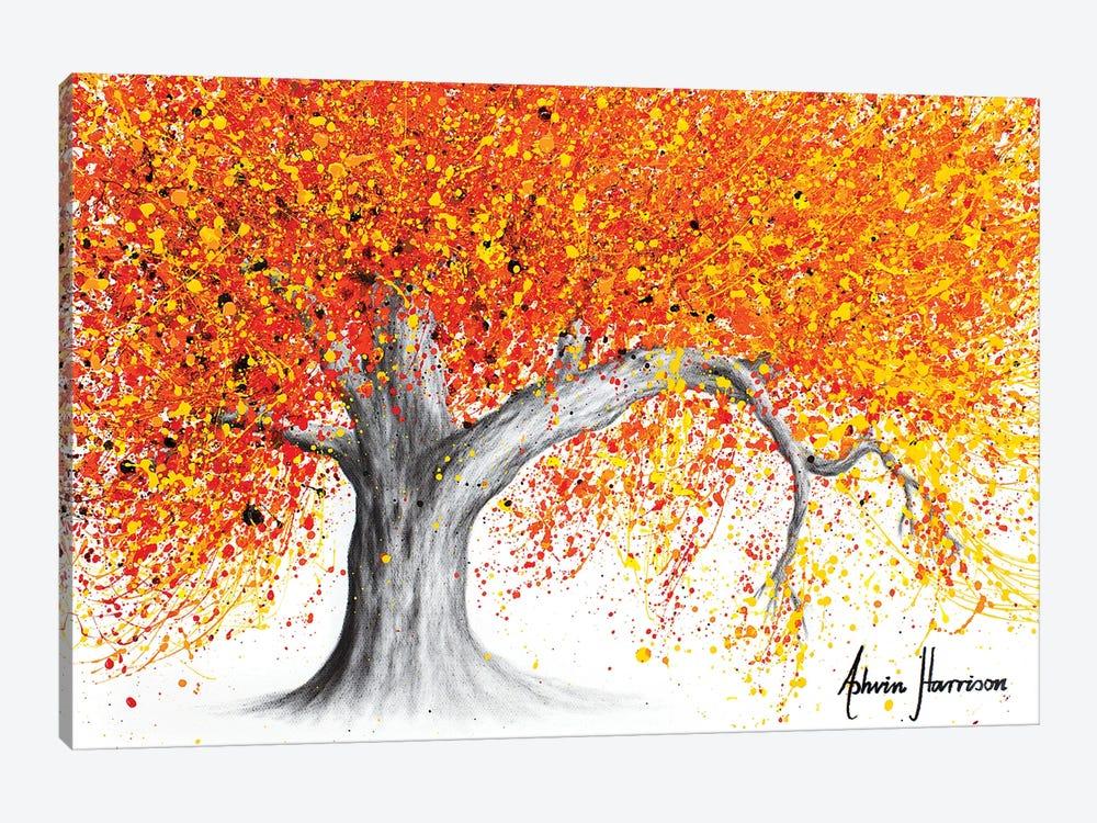 Western Sunset Tree by Ashvin Harrison 1-piece Canvas Wall Art