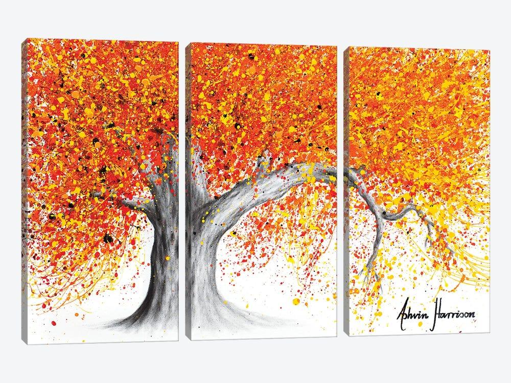 Western Sunset Tree by Ashvin Harrison 3-piece Canvas Art