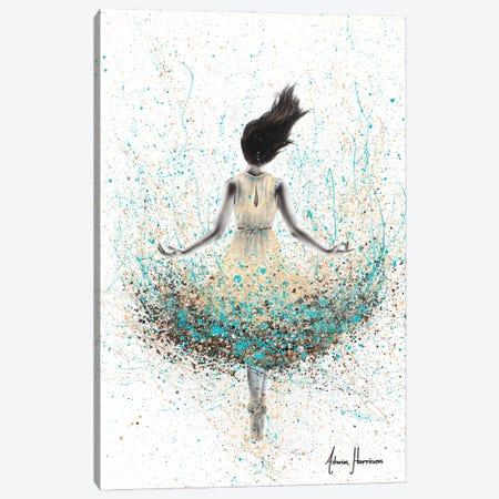 Wheat River Ballerina Canvas Print #VIN692} by Ashvin Harrison Canvas Art