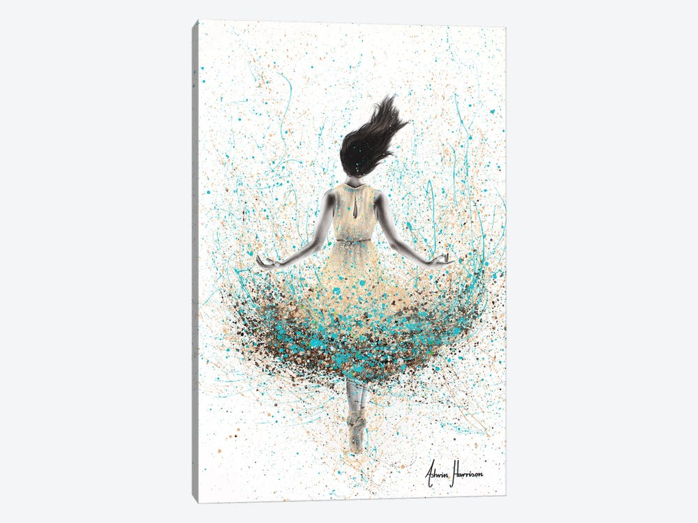 Wheat River Ballerina by Ashvin Harrison 1-piece Canvas Art Print
