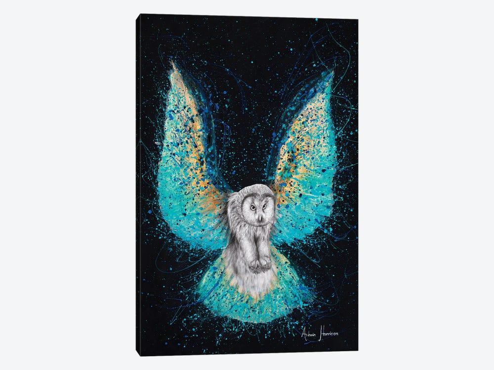 Illuminated Night Owl by Ashvin Harrison 1-piece Canvas Art