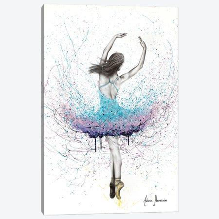 Twirling Flower Dance Canvas Print #VIN697} by Ashvin Harrison Art Print