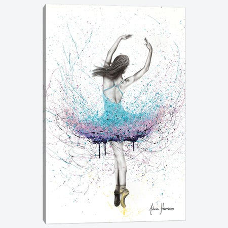 Twirling Flower Dance Canvas Print #VIN697} by Ashvin Harrison Art Print