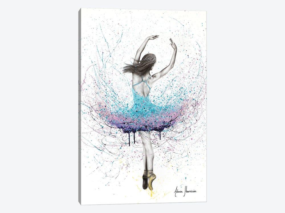 Twirling Flower Dance by Ashvin Harrison 1-piece Canvas Art