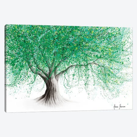 Hill Top Tree Canvas Print #VIN698} by Ashvin Harrison Canvas Art