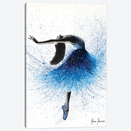Crystal Fountain Dance Canvas Print #VIN701} by Ashvin Harrison Canvas Art