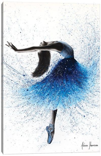 Crystal Fountain Dance Canvas Art Print