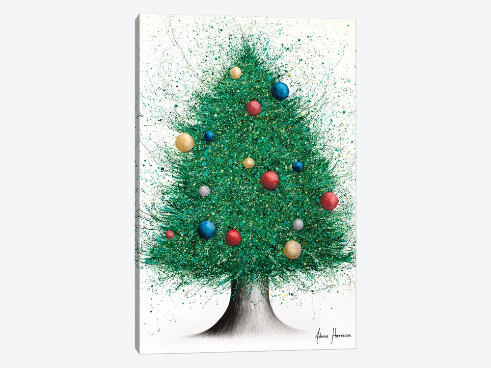 Christmas Tree by Ashvin Harrison 1-piece Canvas Art Print