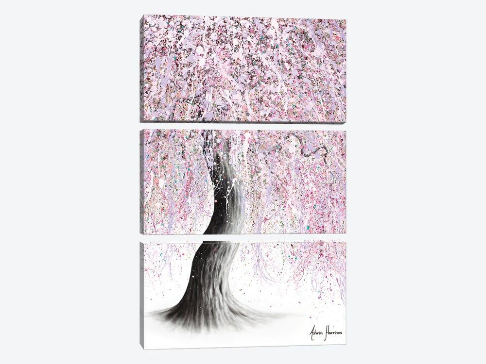 June Jive Tree by Ashvin Harrison 3-piece Canvas Artwork