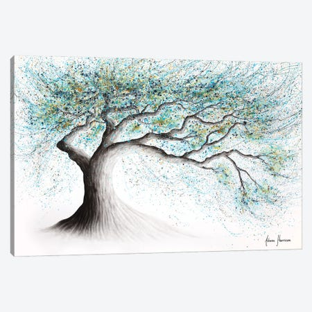 Lucent Lake Tree Canvas Print #VIN706} by Ashvin Harrison Canvas Print
