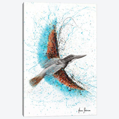 Singing Pond Bird Canvas Print #VIN707} by Ashvin Harrison Art Print