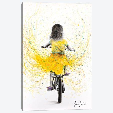 Beach Daisy Ride Canvas Print #VIN710} by Ashvin Harrison Canvas Art Print