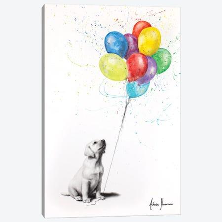 Proud Puppy Canvas Print #VIN712} by Ashvin Harrison Canvas Print